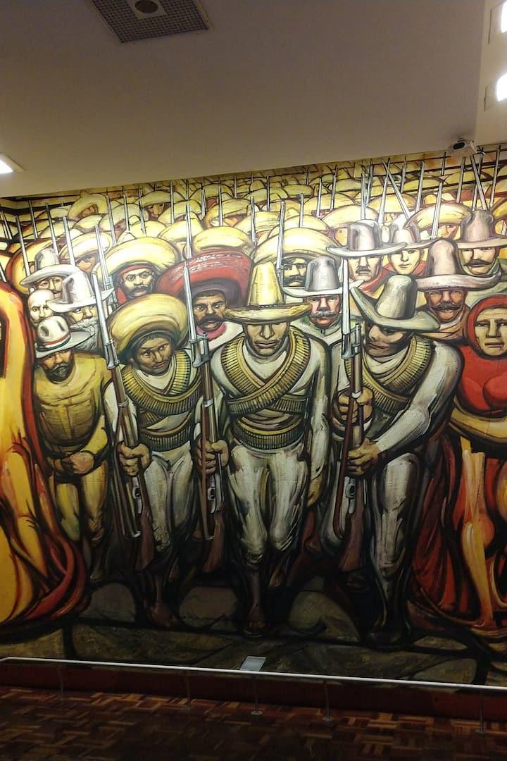 Mexican Revolution mural