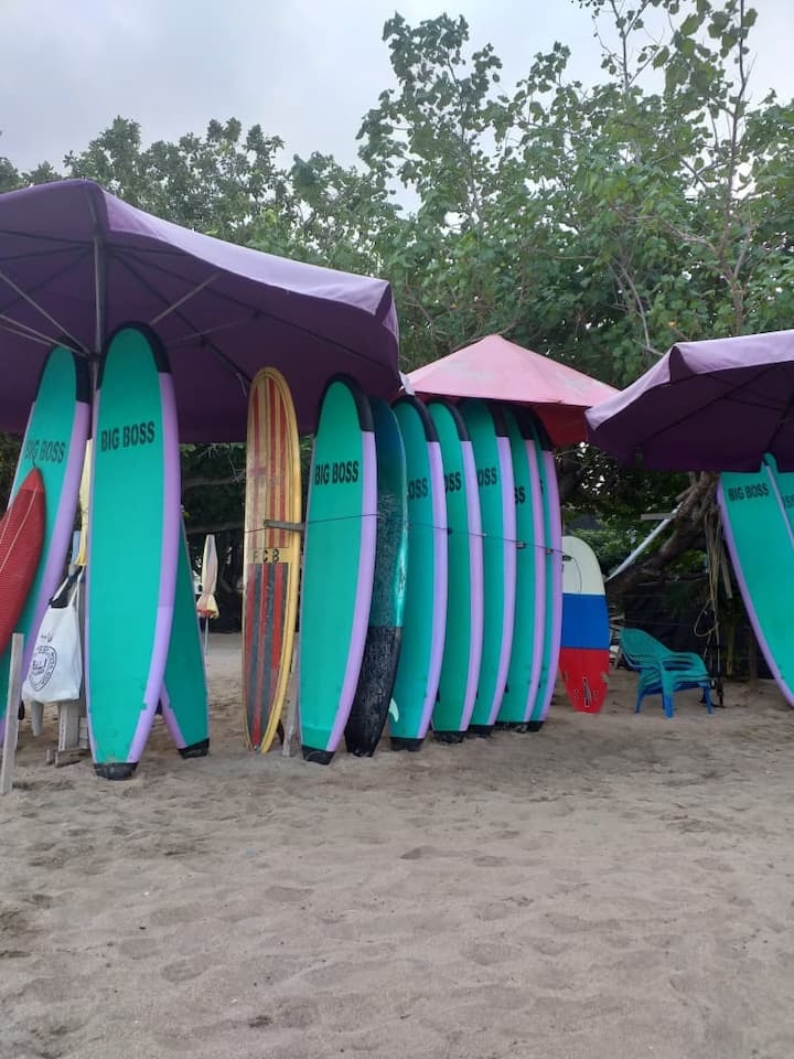 Surf with the best Surfboard from bali