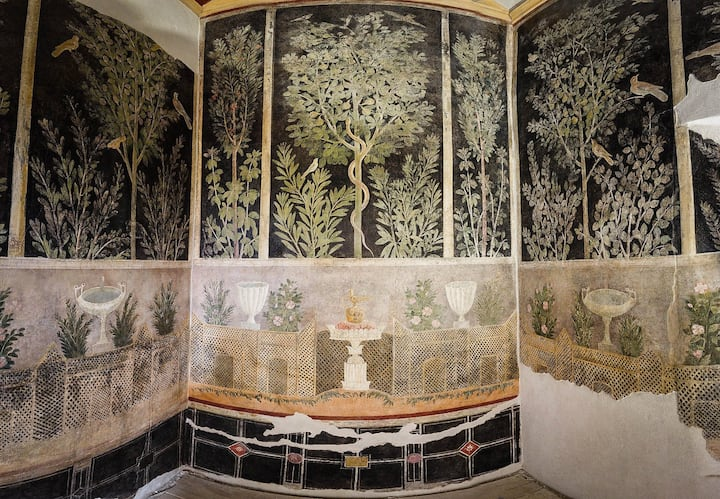 Roman Painting Wall