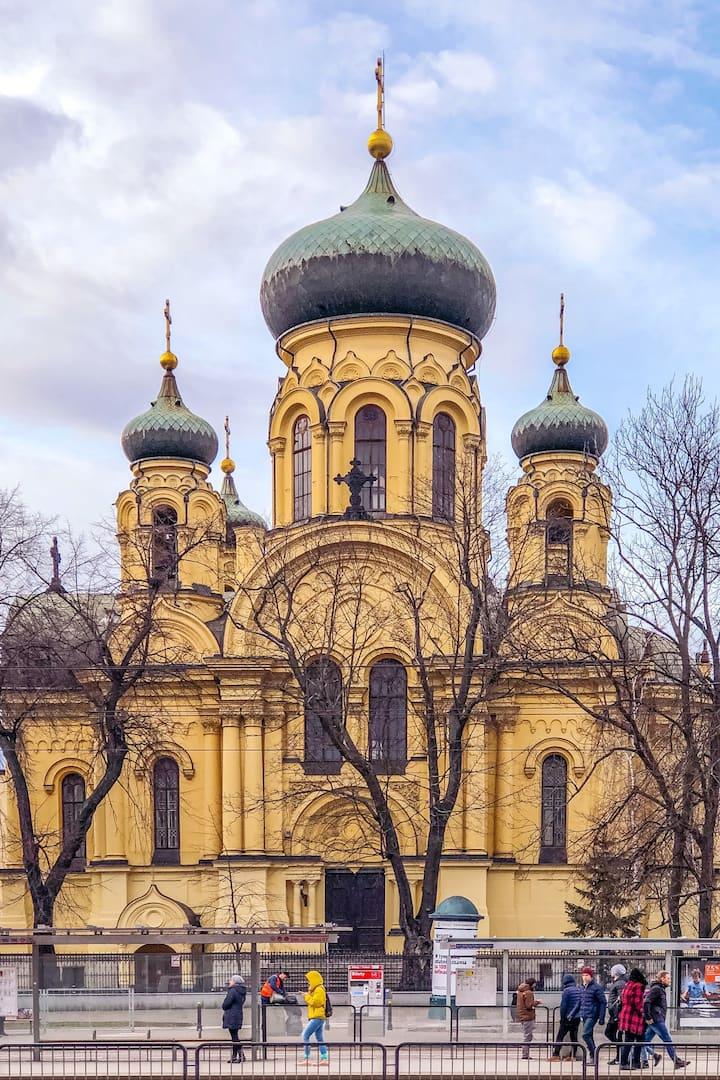 Orthodox Church in Praga District Warsaw