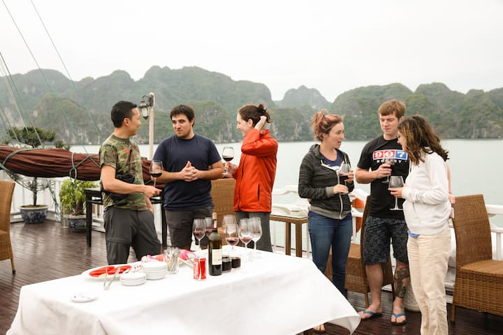 Off Beaten Track In Halong Bay