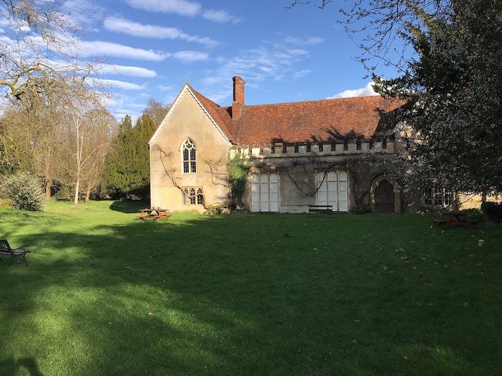 The 14th Century Sutton Courtenay Abbey