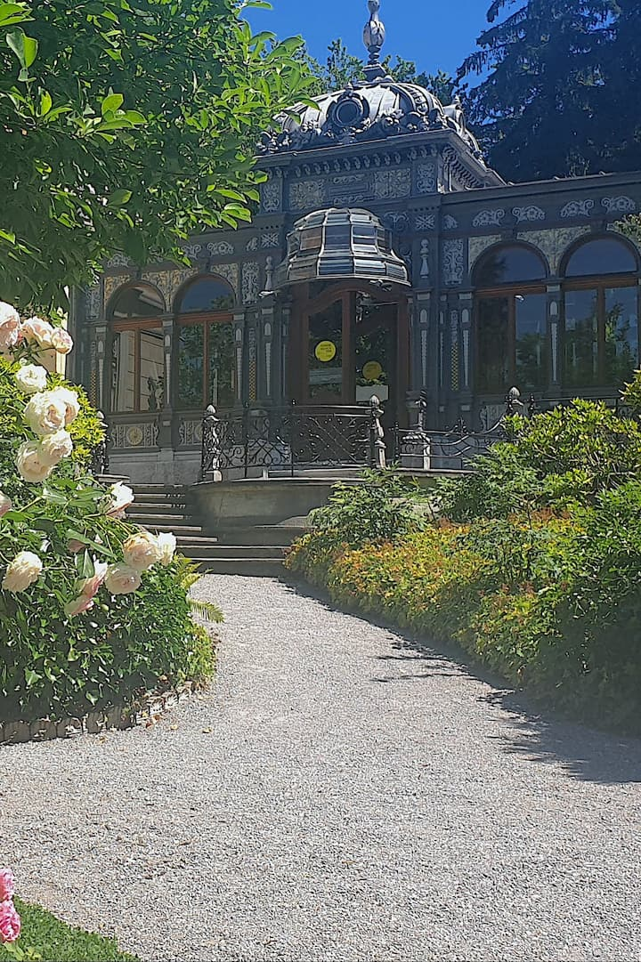 Gardens of a Villa