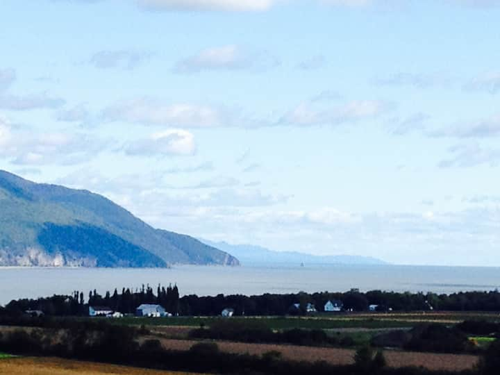 View of Cap Tourmente