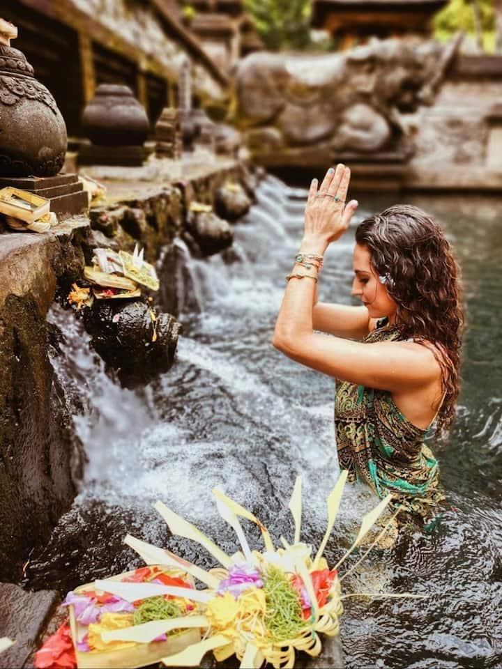 Tirta empul temple ( holy spring)