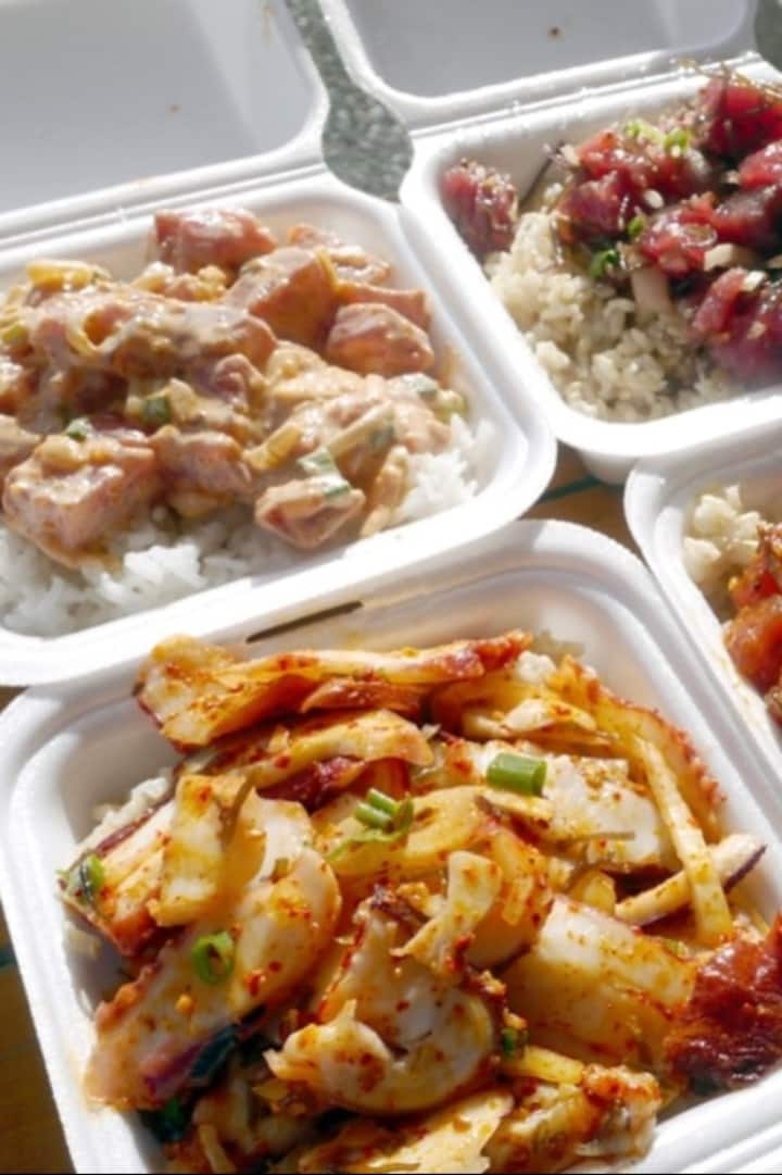 Refuel with your choice of Poke!