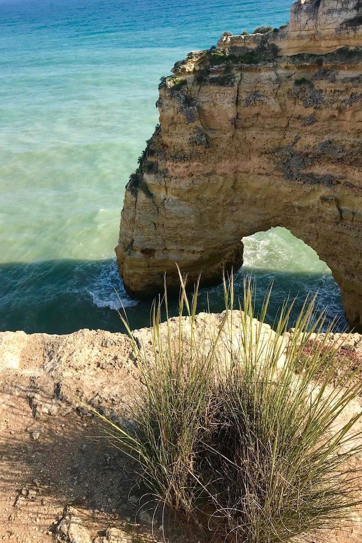 Detalhes dos Arcos da Praia da Marinha