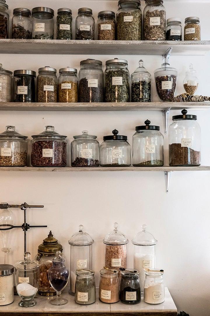 Ingredients from the Alchemist's Kitchen