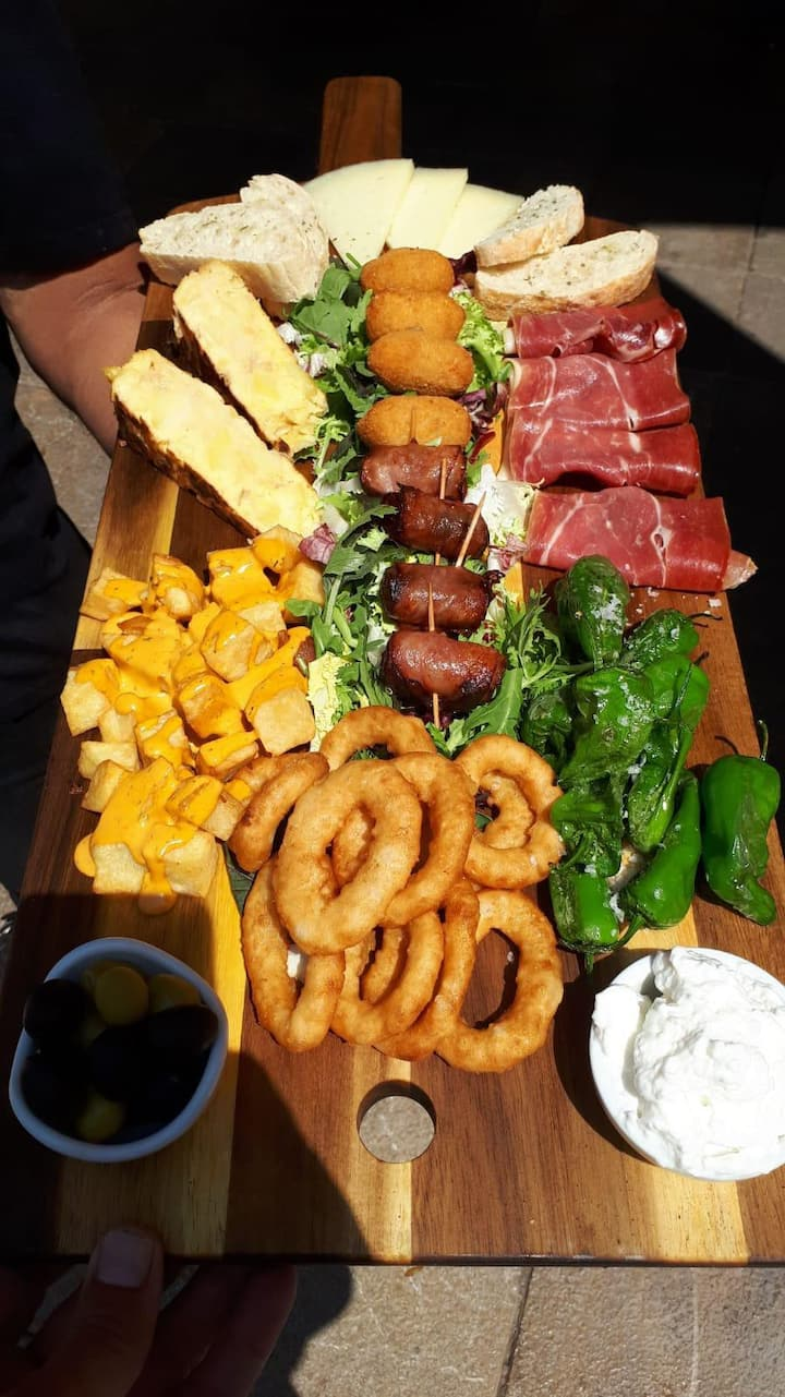 Un bon repas après la ballade