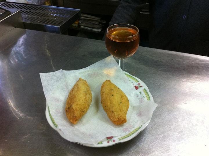 Cod with Eduardinho liquor