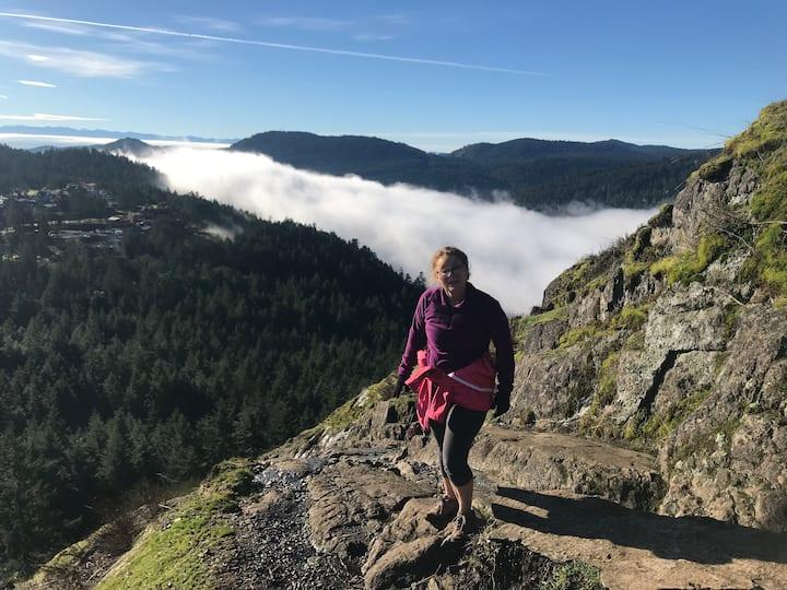 Climbing Mt. Finlayson