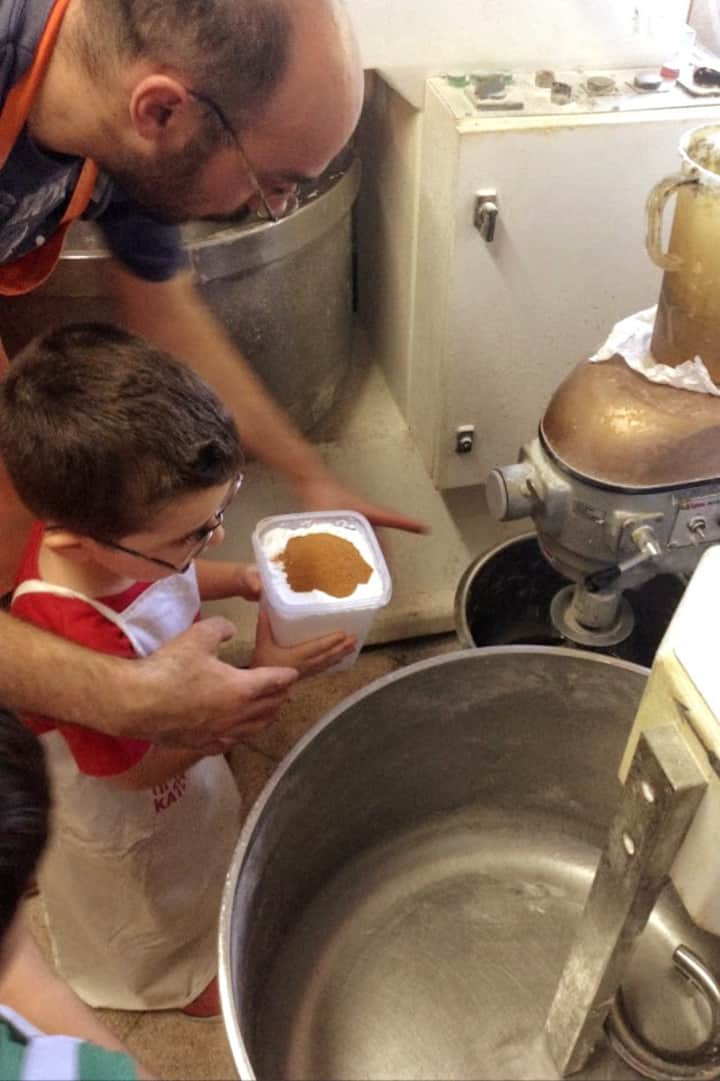 No one is too little to learn to bake