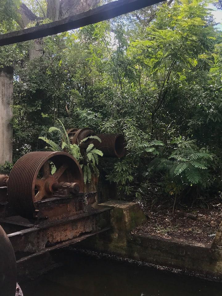"Casa de bombas ""pump house"" ruins"