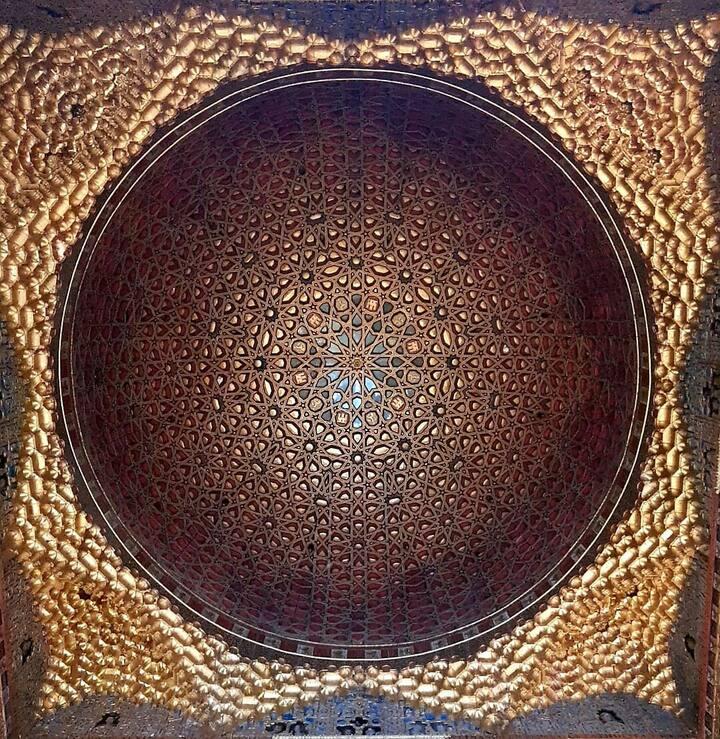 Cúpula del Salón del  Trono