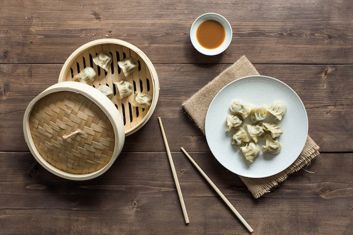 How about hand-made dumplings for lunch?