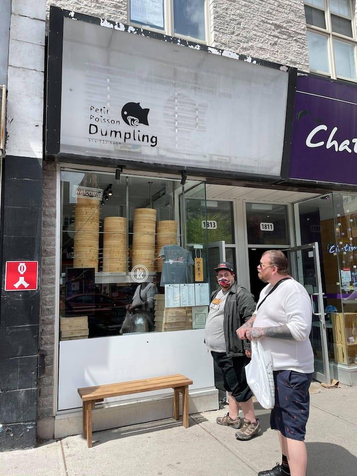 pour les soupes dumplings