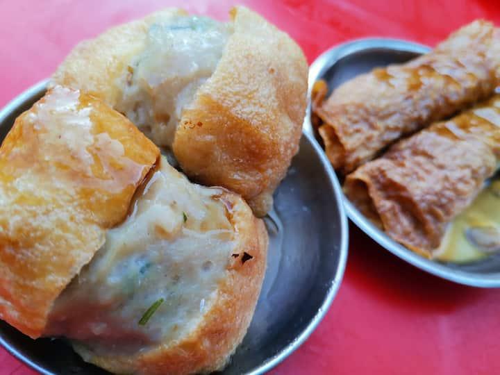 Dim Sum - Stuffed fish tofu