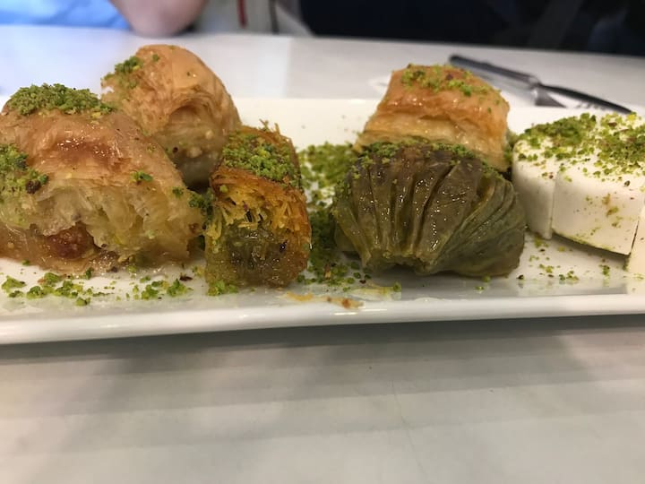 Turkish baklava I made