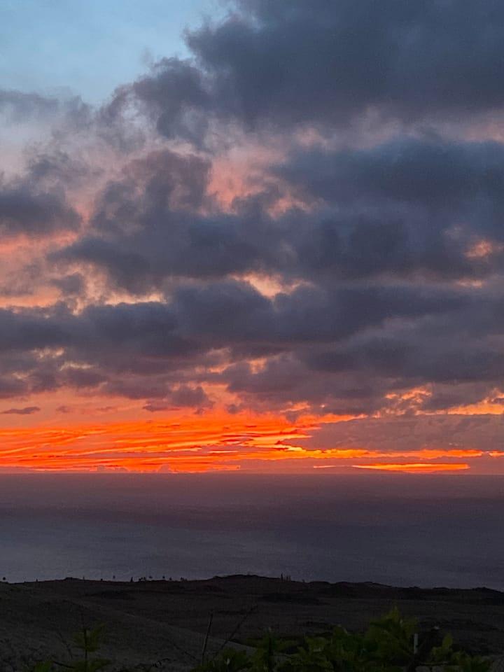 Sunset Over Ko'oholawe