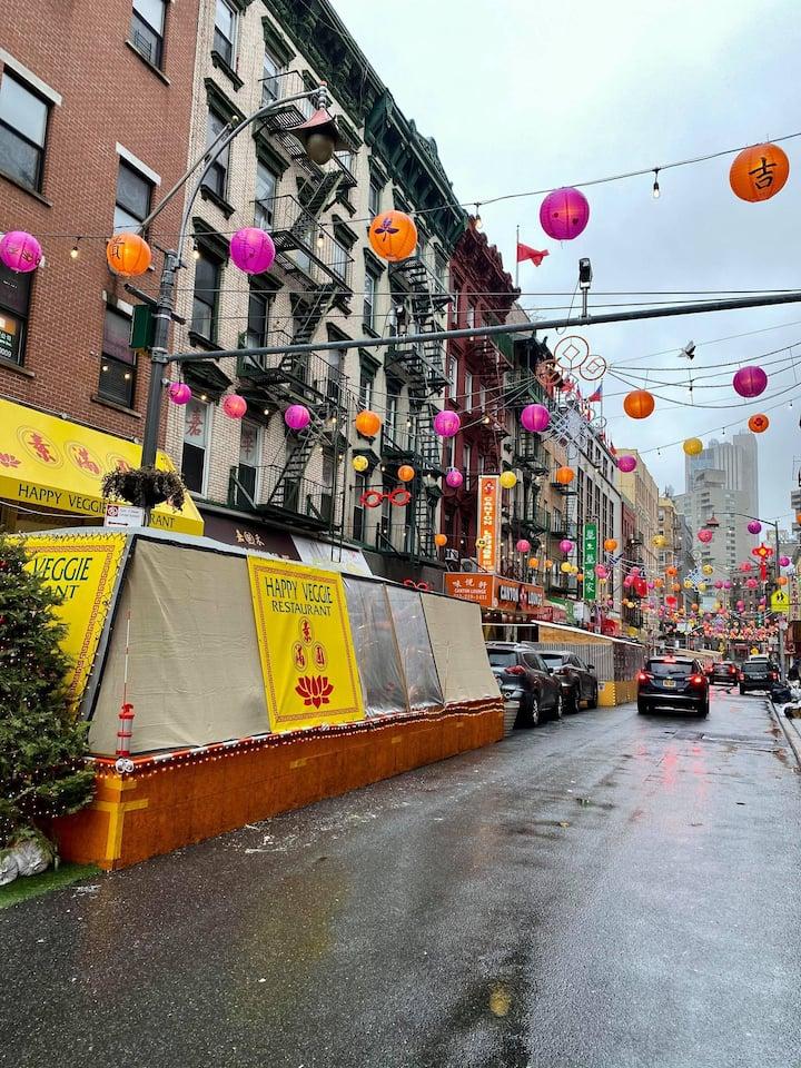 """Light Up Chinatown"" initiative"
