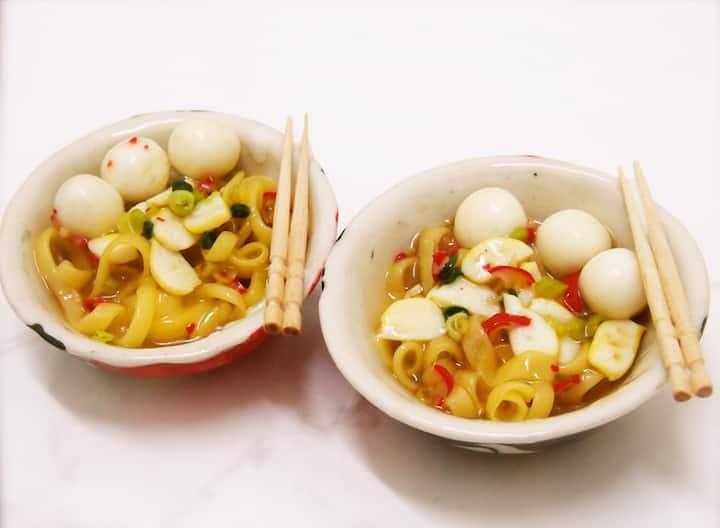 Clay Noodle Bowl
