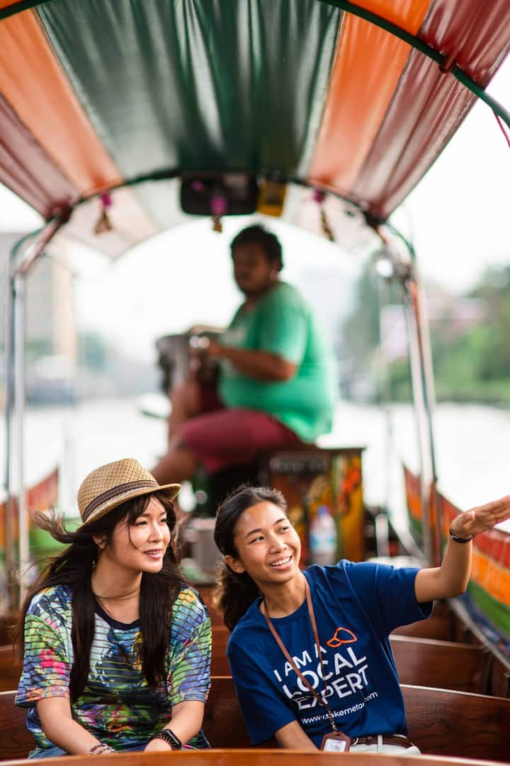 Explore BKK on a long-tailed boat