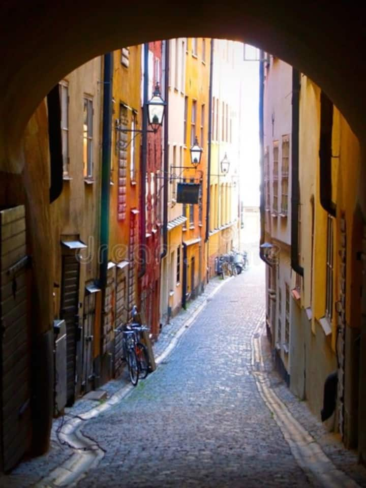 The Old  Town, Gamla  Stan.
