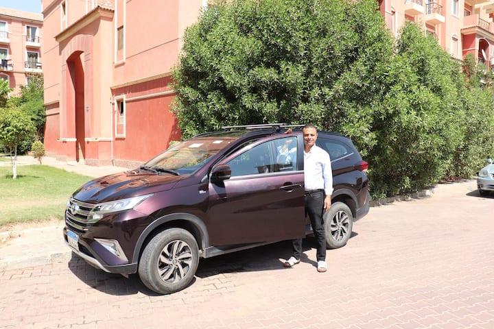 Ich mit mein Auto