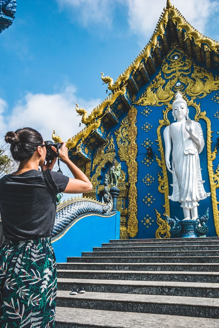 Take some pics of Blue Temple