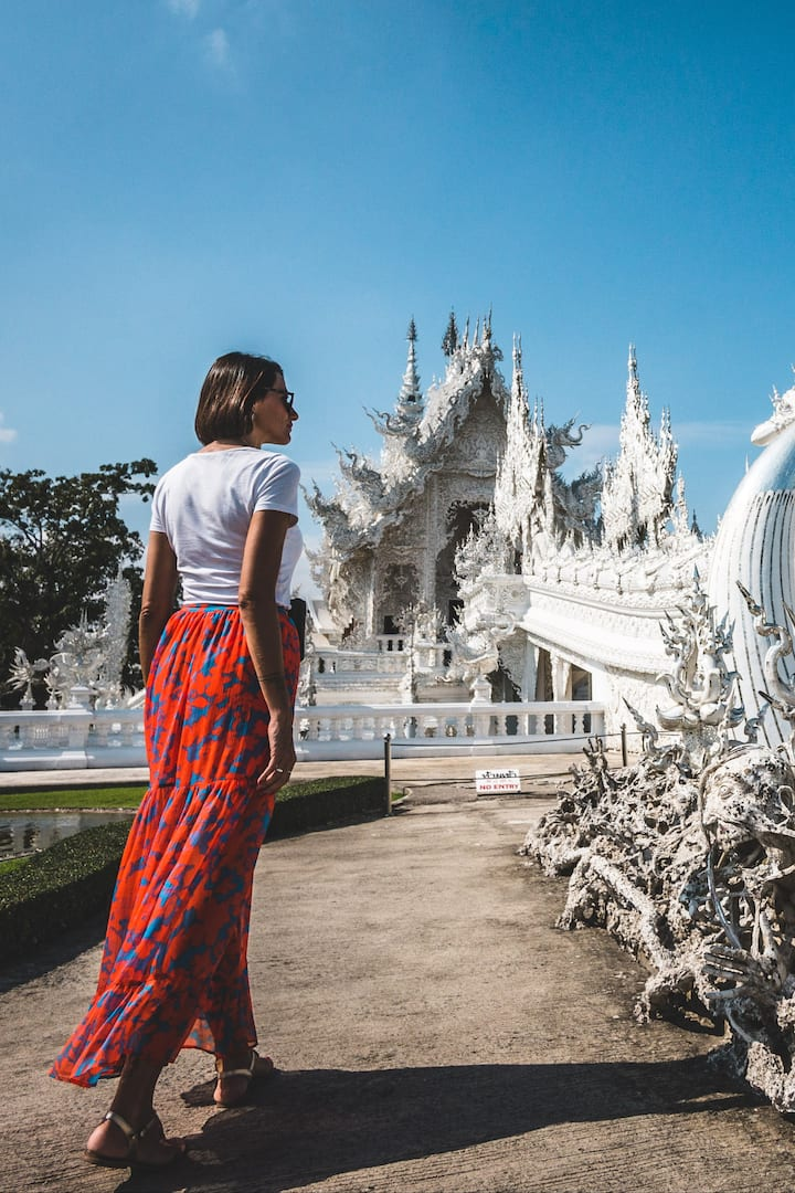 Stunning view of White temple