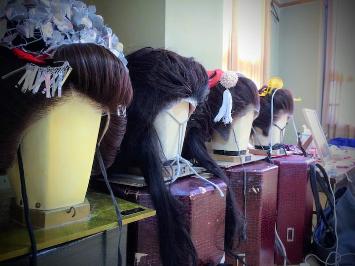 Wigs for Geisha
