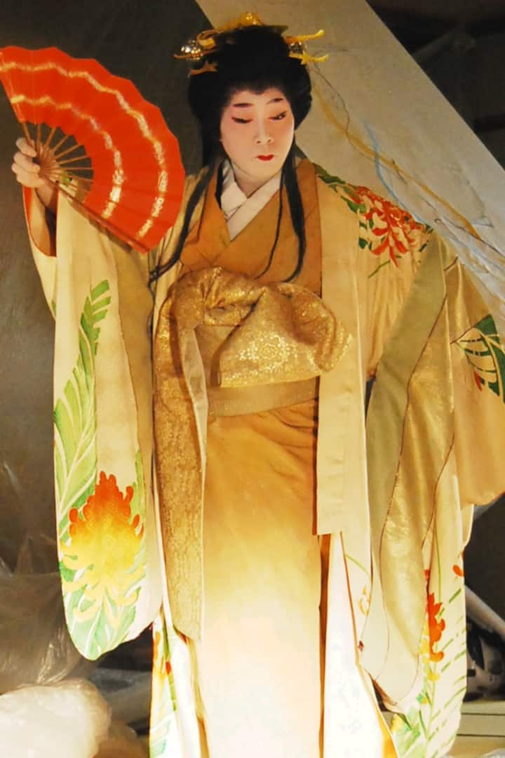 Kimono that is used in performance