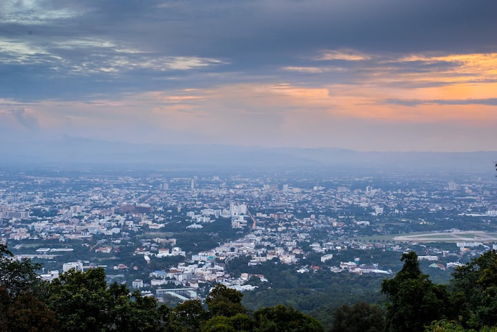 Stunning Chiang Mai view at Doi Suthep