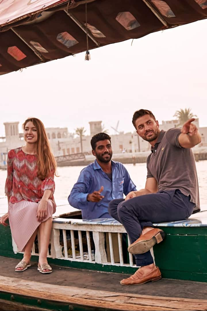 Abra Boat Ride on Dubai Creek