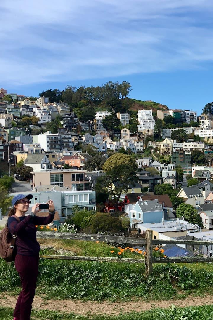 Points de Vue & Collines  San Francisco