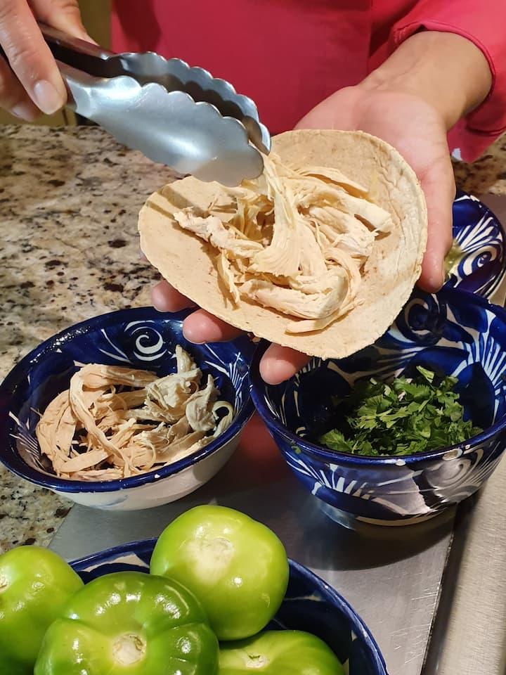 Filling Enchiladas -  Vegan options