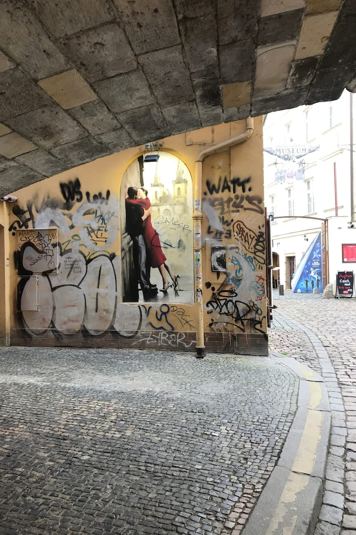 Under the Charles Bridge
