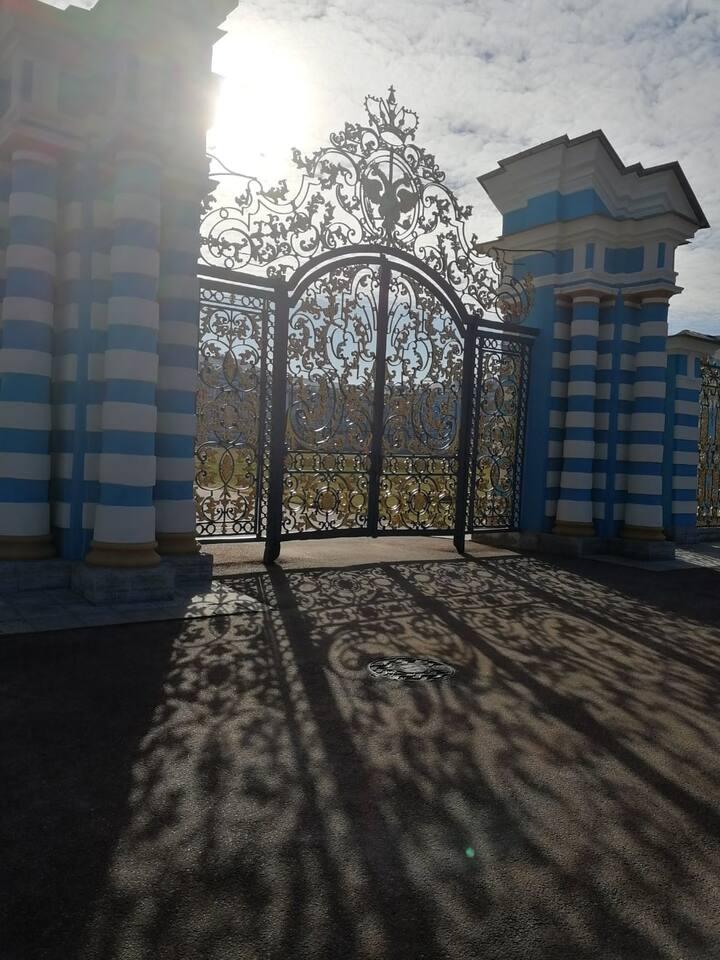 Царское село. Золотые ворота