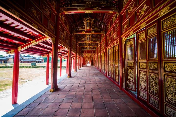 Hue Forbidden city