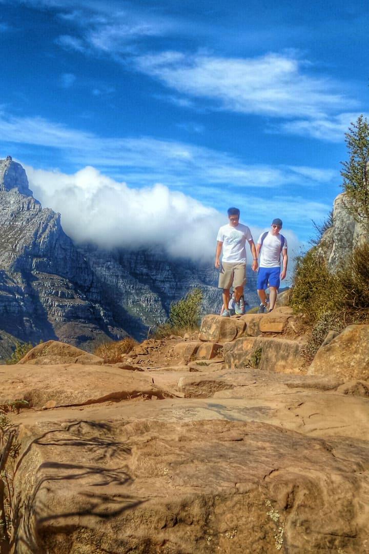 Organic Lions Head Hike trail