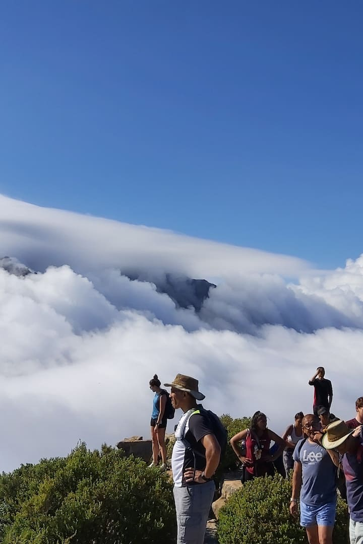 Cloud showing of on Lions Head Hike