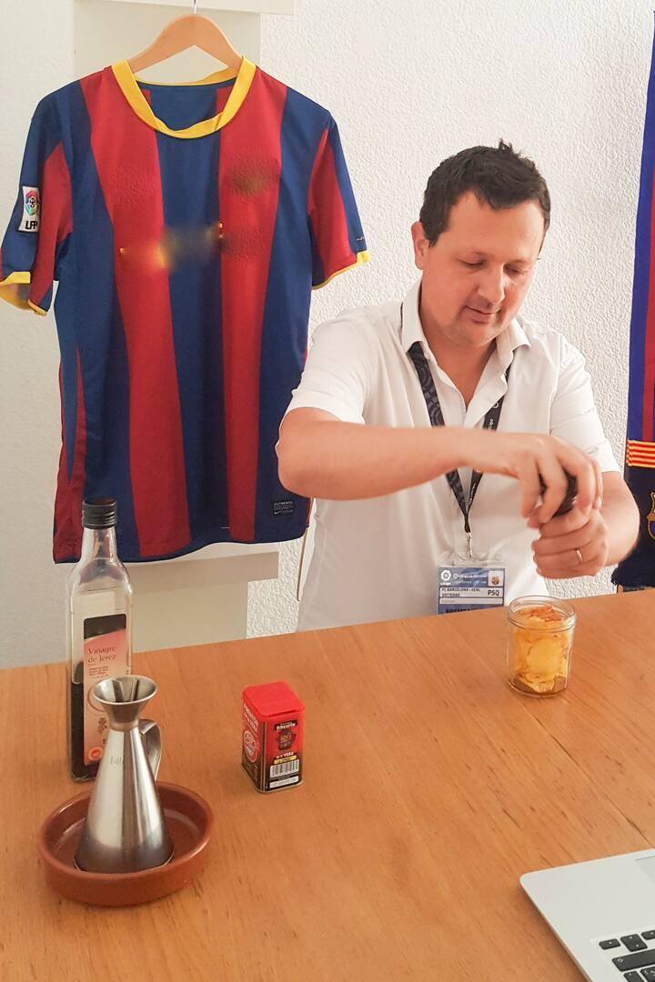 Eat like a Barça fan