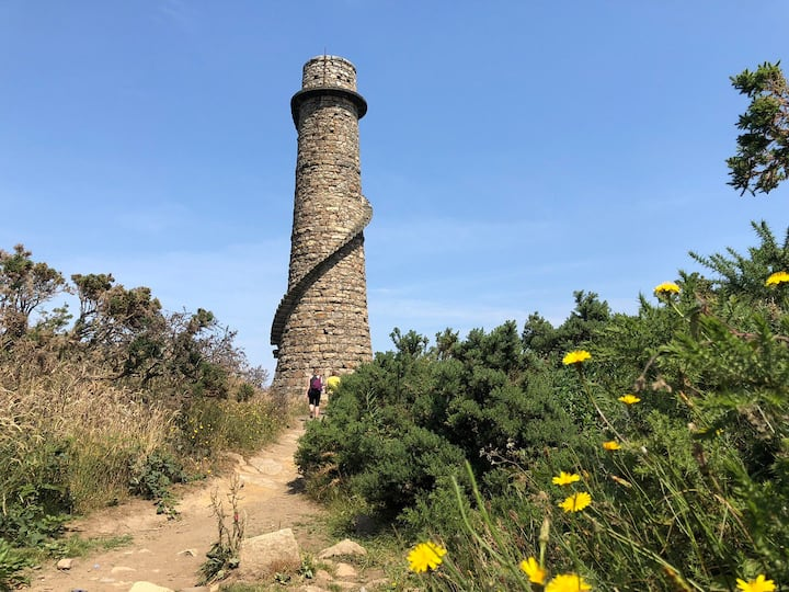 Ballychorus Lead mine Chimney