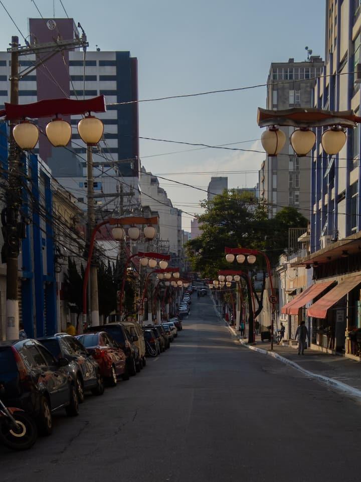 Liberdade, my neighborhood in Sao Paulo