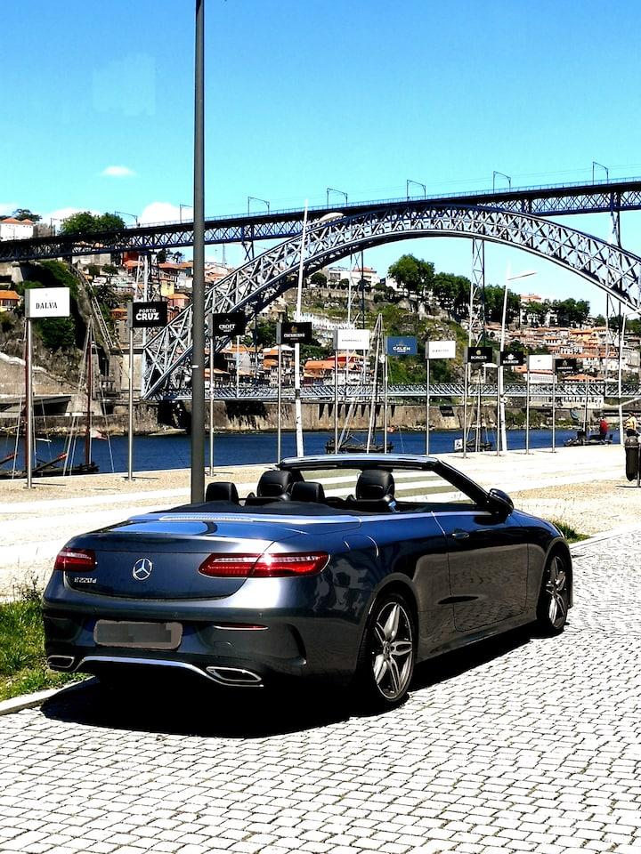 Convertible Mercedes