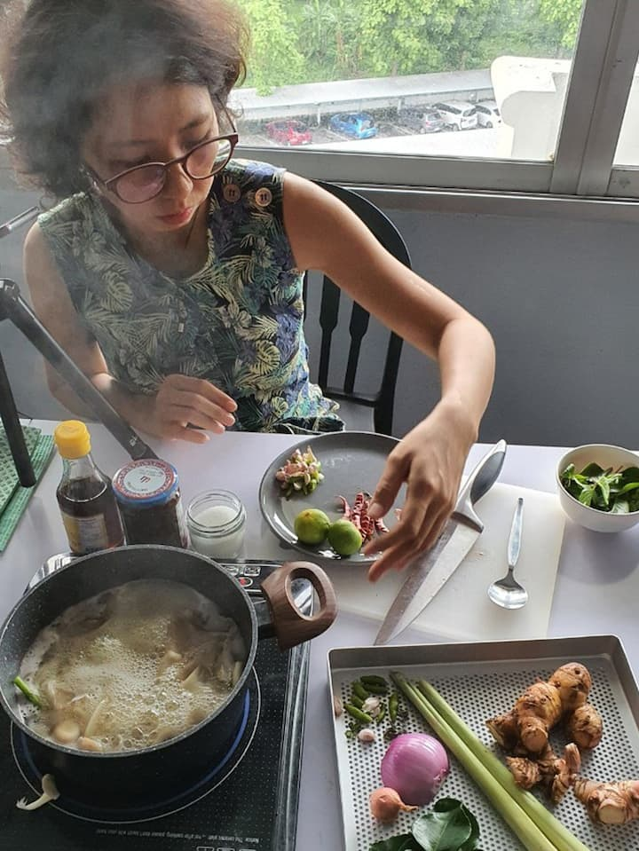 Tom Yum Soup Ingredients