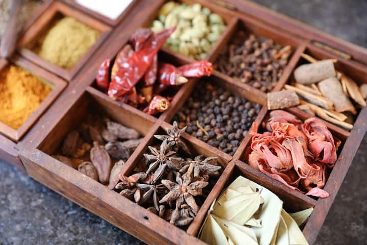 Spices galore!