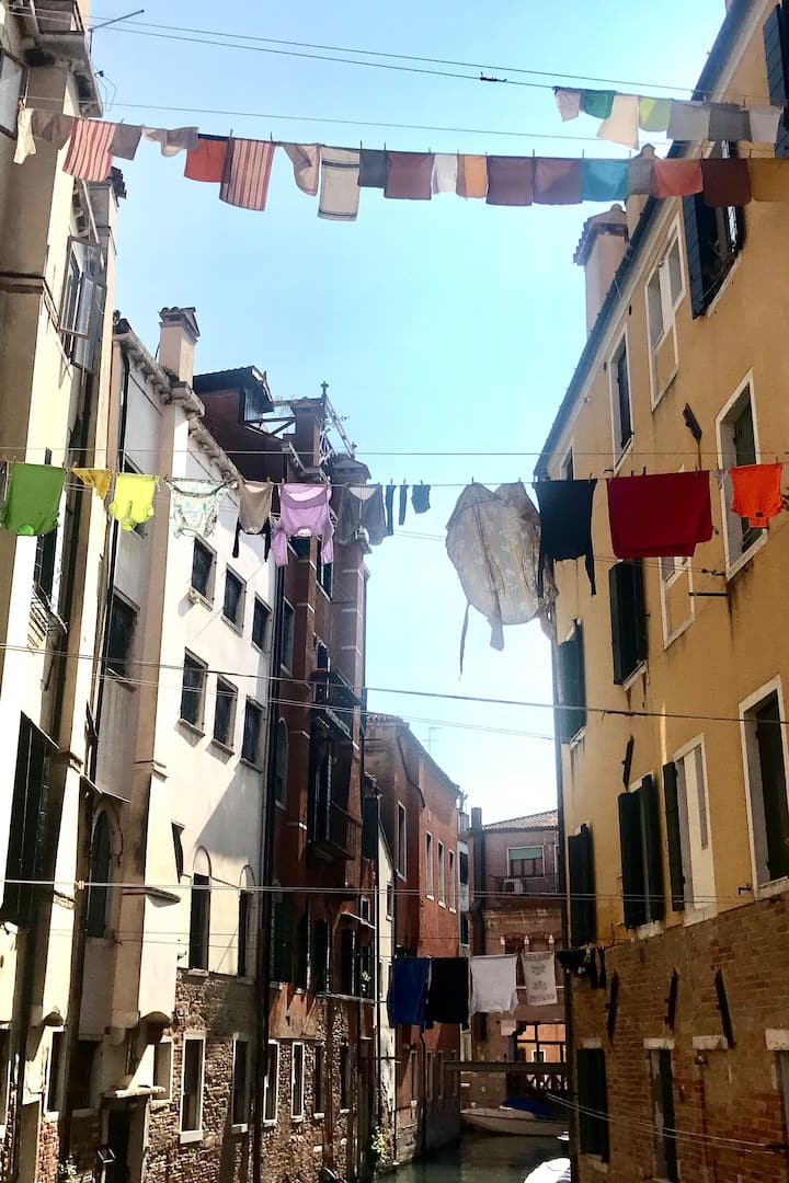 The typical Jewish Ghetto view