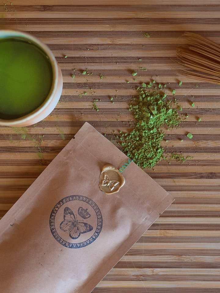 Matcha green tea!