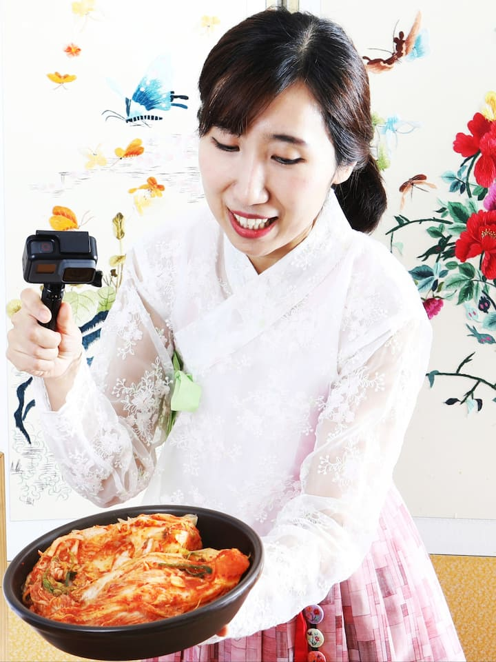 Kimchi Master Class with a Chef